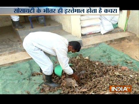 Good news: Visit to zero waste society of Gurugram