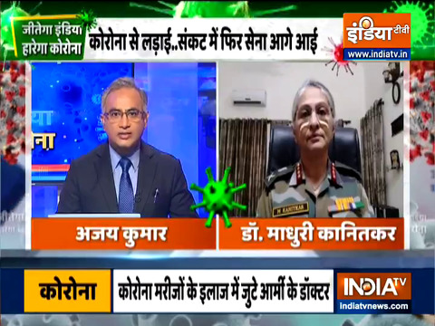 Jeetega India | Indian Army forces is ready to fight against COVID-19: Dr. Madhuri Kanitkar, LT Gen AMC