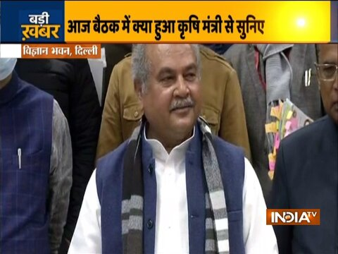 Farmers' Protest: There is a possibility of finding a resolution on Jan 22, says Agriculture Minister NS Tomar