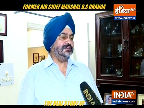 Pakistan MP's statement a proof that they fear Indian armed forces, says Ex-IAF chief BS Dhanoa