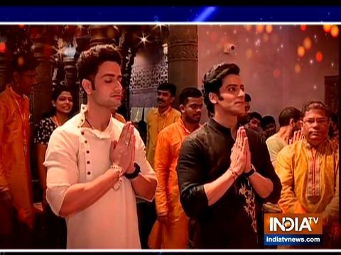गणेश चतुर्थी: टीवी के विष्णु और शिव पहुंचे गणपति बप्पा के बीच, Namah के एक्टर पहली बार आए टीवी के सामने
