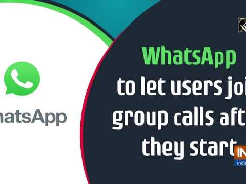 WhatsApp to let users join group calls after they start