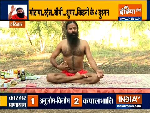 बढ़ता हुआ वजन है किडनी फेल का कारण? स्वामी रामदेव से जानें मोटापे को कंट्रोल करने के 3 योगासन