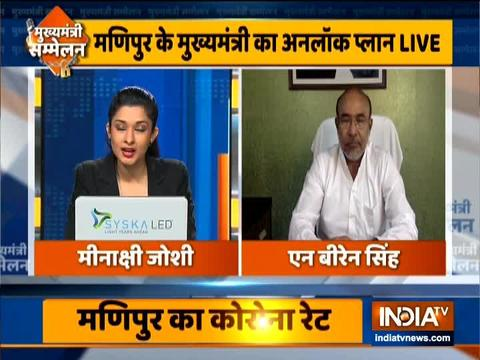 Manipur CM N. Biren Singh speaks to India TV on unlock 1 plan in the state