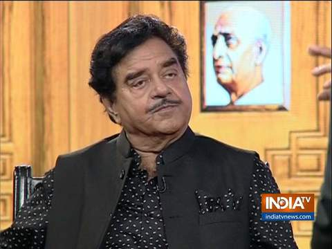 Shatrughan Sinha in Aap Ki Adalat: Had promised my supporters that my location Patna Sahib will not change