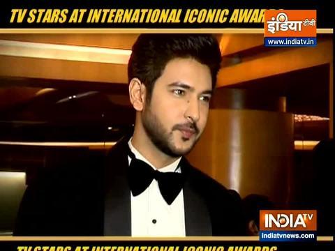 TV Stars arrive at International Iconic Awards