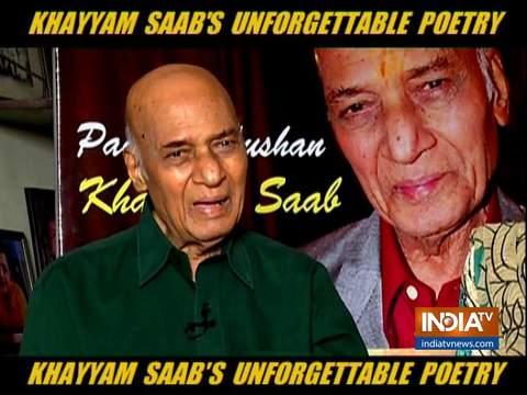 भारतीय सिनेमा के मशहूर संगीतकार खय्याम साहब की कभी न भूलने वाली कविताएं