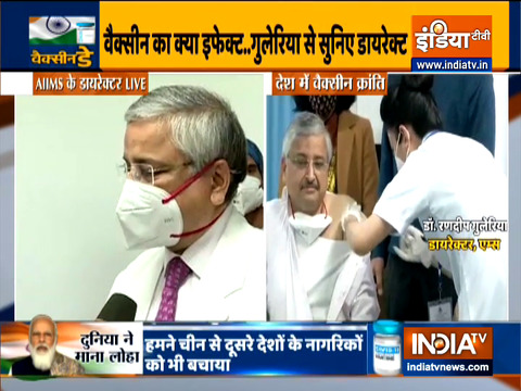 I want to reassure everyone that the vaccine is safe: AIIMS Director Dr Randeep Guleri