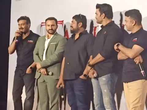 'तानाजी ट्रेलर लॉन्च पर अपनी 100वीं फिल्म को लेकर बोले अजय देवगन