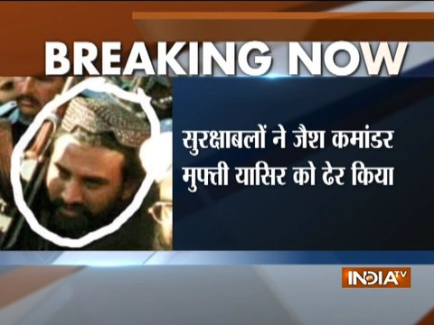 Masood Azahar's trusted commander Mufti Yasir terrorist killed in J-K's Tral