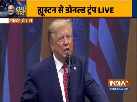 डोनाल्ड ट्रम्प ने कहा कि पीएम मोदी के कार्यकाल में भारत दुनिया में एक मजबूत, संपन्न और संप्रभु देश का गवाह बन रही है