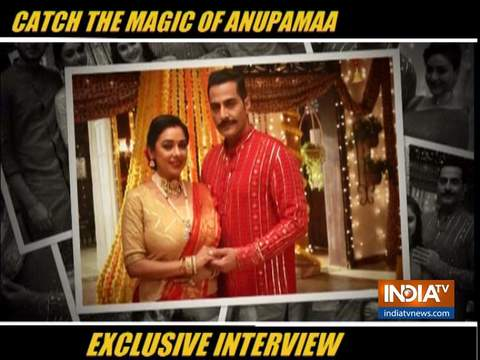 Anupamaa stars talk about the success of the show