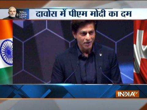 Shah Rukh Khan says he is 'honoured' to receive Crystal Award along side Elton John, Cate Blanchett
