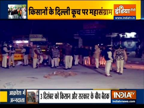 'Delhi Chalo' march: Security tightened at Delhi-Haryana border