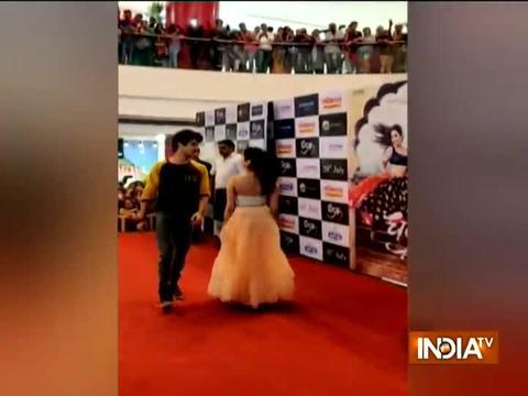 Ishaan Khatter, Janhvi Kapoor promote Dhadak in Pune