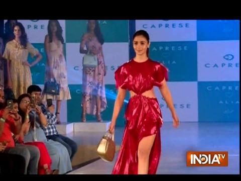 Alia Bhatt walked the ramp for new Caprese collection