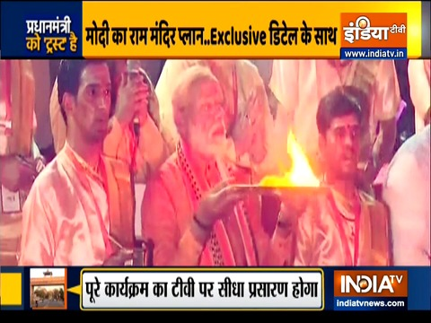 PM Modi to visit Ayodhya on 5 aug for bhoomi pujan of Ram temple
