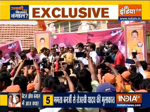 MP CM शिवराज सिंह चौहान ने बंगाल के हावड़ा में परिवर्तन रैली को किया संबोधित