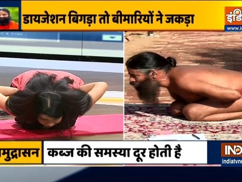 Swami Ramdev suggests effective ways to overcome stomach problems