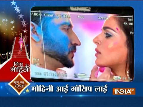 Mohini: Kumkum Bhagya team Pre-Holi celebration