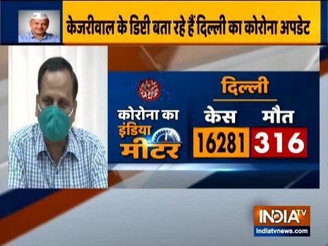 दिल्ली में कुल कोरोना वायरस के मामले 17,386 पहुंचे स्वास्थ्य मंत्री ने दी जानकारी