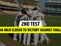 IND vs ENG 2nd Test Day 4: India close-in on series-levelling victory