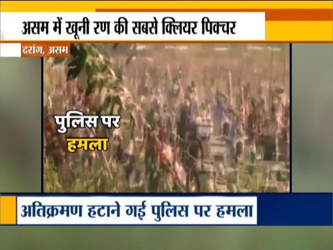 असम के दारंग में पुलिस और स्थानीयों के बीच हुई हिंसक झड़प, कार्रवाई में दो की मौत