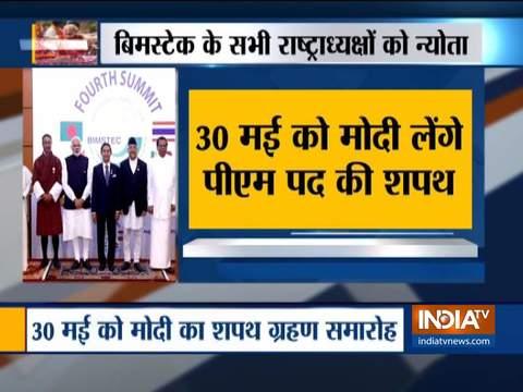 BIMSTEC Member States invited for the Swearing-in ceremony of Narendra Modi