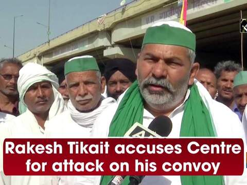 Rakesh Tikait accuses Centre for attack on his convoy