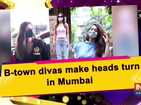 B-town divas make heads turn in Mumbai