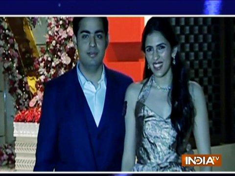 Mukesh Ambani's son Akash's engagement party