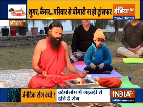Practice yoga daily to avoid genetic disorders