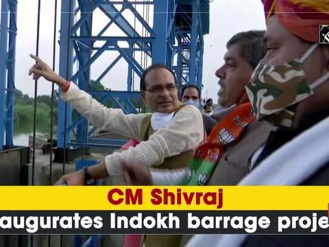 CM Shivraj inaugurates Indokh barrage project