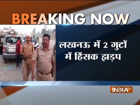 Two groups clash in Lucknow, one critically injured