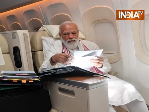PM मोदी 65 घंटे के अमेरिका दौरे में हुए 24 मीटिंग में शामिल