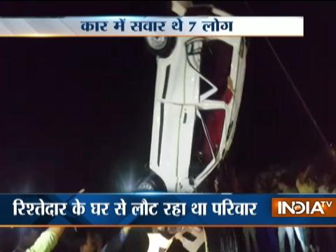 Major road accidents in Ghaziabad and Mumbai