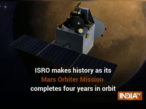 Mangalyaan completes four years in orbit