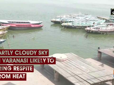 Partly cloudy sky in Varanasi likely to bring respite from heat