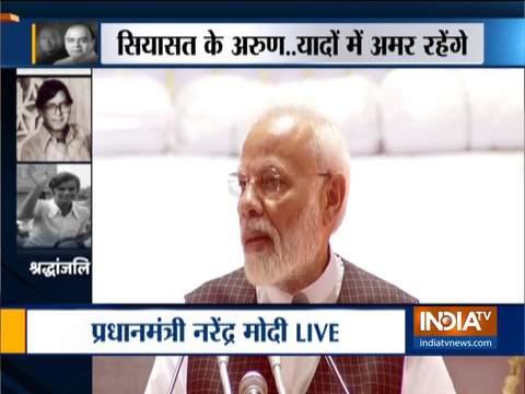 Arun Jaitley Prayer Meet: PM Modi, Amit Shah pays tribute to former Union Minister