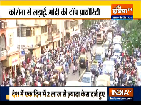 Haqikat Kya Hai: India reports over 2 lakh Covid-19 cases today