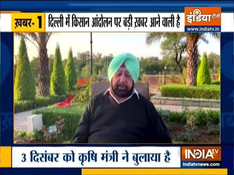 Top 9 news: Amarinder Singh urges farmers to shift protest to Burari ground