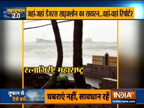 Cyclone Nisarga to hit Alibaug near Mumbai