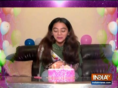 Helly Shah celebrates birthday with SBAS