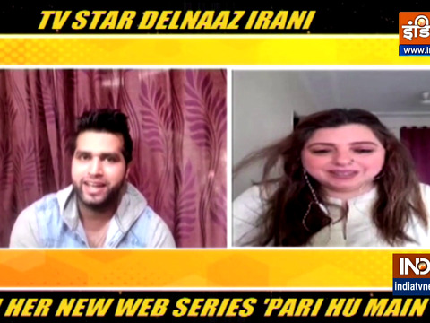 Delnaaz Irani opens up about her character in web series Pari Hun Main