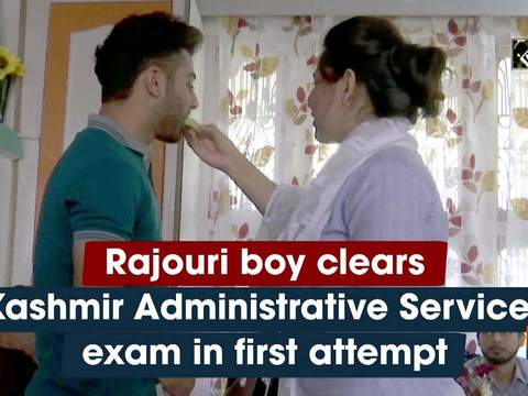 Rajouri boy clears Kashmir Administrative Services exam in first attempt