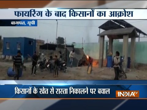 Uttar Pradesh: Clash between mining mafia and farmers in Baghpat