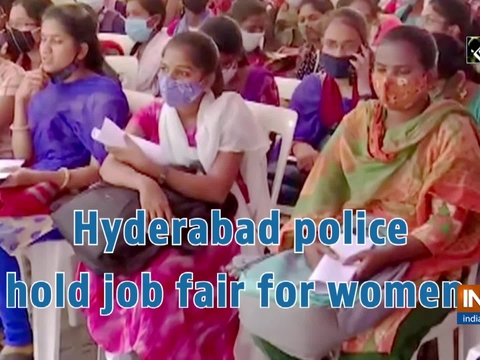 Hyderabad police hold job fair for women
