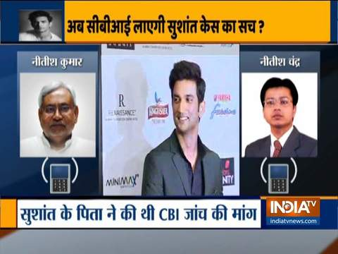 Bihar CM recommends CBI probe in Sushant death case