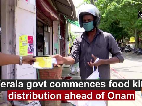 Kerala govt commences food kits distribution ahead of Onam