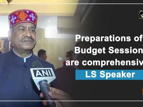 Preparations of Budget Session are comprehensive: LS Speaker
